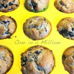 Blueberry&maple muffin