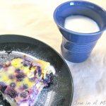 Cheesecake mirtilli e limone