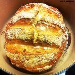 No Knead Bread al grano duro