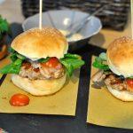 Burger buns e hamburger di casa mia