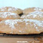 Puccia (pane di segale tipico tradizionale Ampezzano-Trentino Alto Adige)