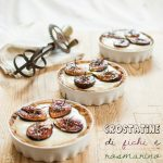 Re-cake 11: crostatine di fichi e rosmarino