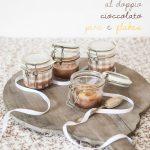 Crema al doppio cioccolato, pere e flakes (e trepidanti attese)