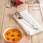 Zuppa piccante (ai pomodori e avocado)