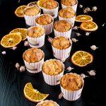 Muffin al profumo di rose, arance e vaniglia