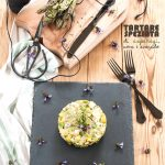 'Tartare' speziata di asparagi, uova e avocado