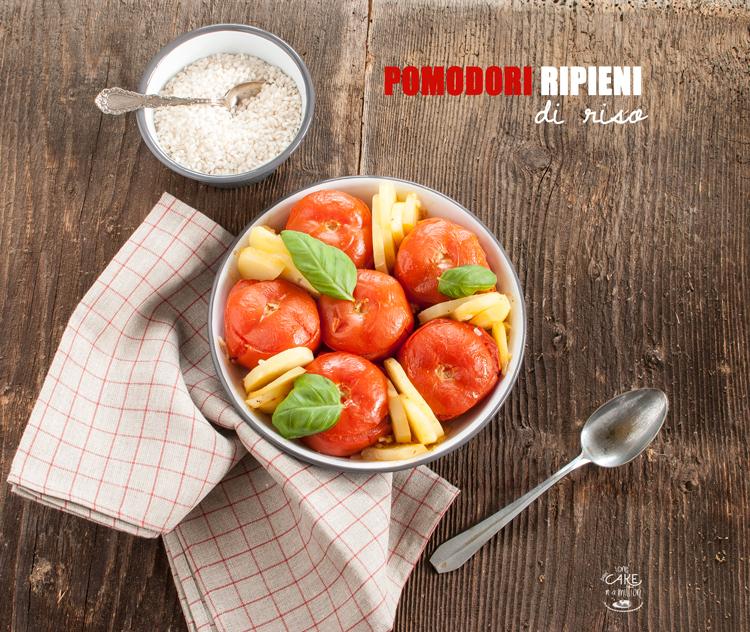 pomodori ripieni, riso, originario, spezie, senza forno, cottura in pentola, tradizione