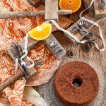Fluffosa ciocco-arancia (e vaniglia)