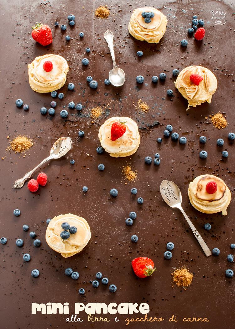 pancake, mini, birra, zucchero di canna, frutta, onepancake, easy in 20 minuti