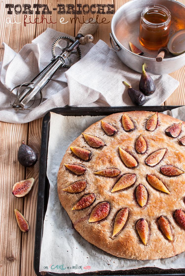 torta brioche, integrale, farina petra, fichi, miele, easy, pan brioche, contest