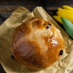 Hot cross buns al farro