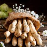 Grissini ai pistacchi e pepe di Sichuan