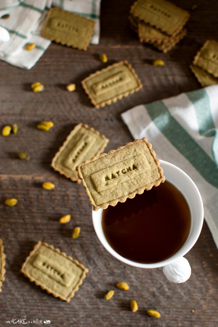 biscotti matcha