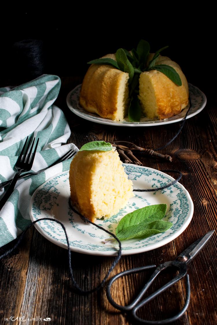 Ciambella Limone e Salvia