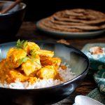 Pollo tikka masala e paratha (di Jamie Oliver)