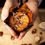 Muffin con miele e noci pecan