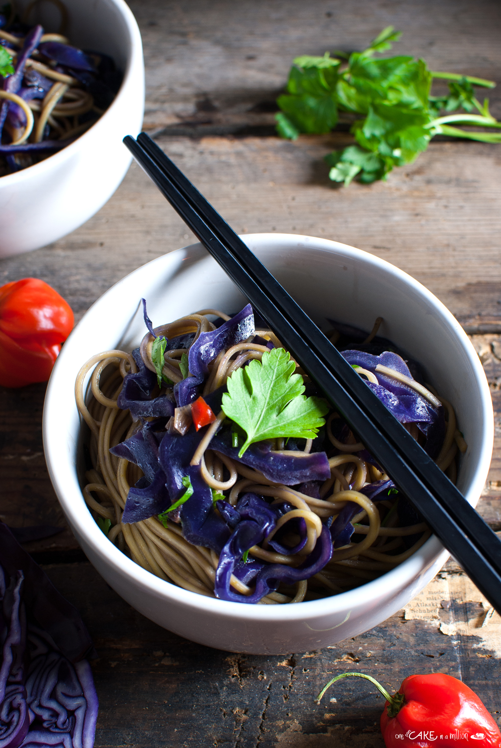 noodle cavolo rosso