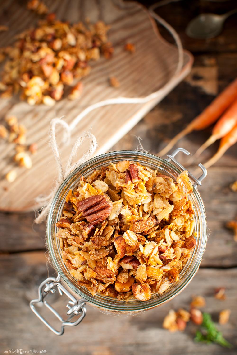 Granola carote1