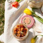 Lasagne integrali con tonno e pomodori secchi in vasocottura