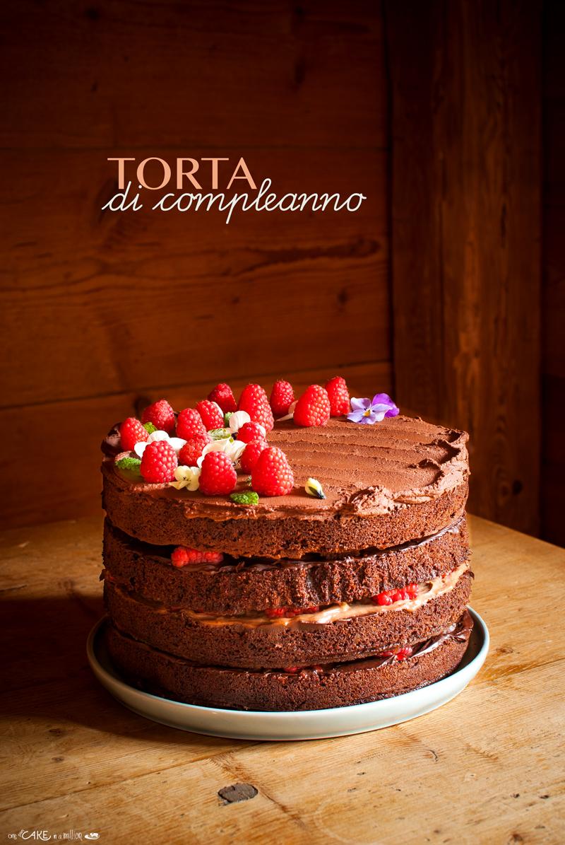 torta compleanno cioccolato
