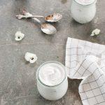 Yogurt di cocco con kefir