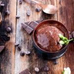 Sorbetto al cioccolato