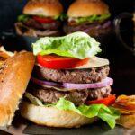 Burger di manzo doppio